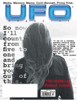 Emma Woods UFO Mag Cover