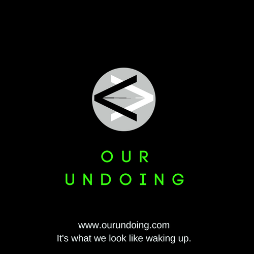 Our Undoing Logo with Tagline