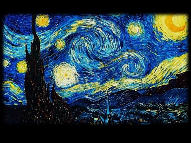 Starry night before